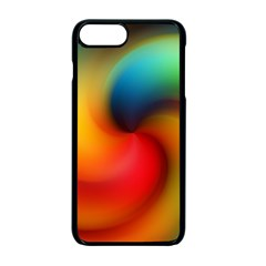 Abstract Spiral Art Creativity Apple Iphone 7 Plus Seamless Case (black) by Nexatart