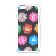 Background Colorful Abstract Apple Iphone 6/6s White Enamel Case
