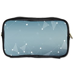 Background Abstract Line Toiletries Bags 2 Side