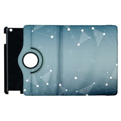 Background Abstract Line Apple Ipad 2 Flip 360 Case
