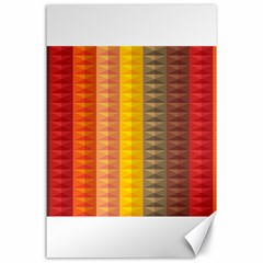Abstract Pattern Background Canvas 24  X 36