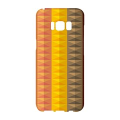 Abstract Pattern Background Samsung Galaxy S8 Hardshell Case