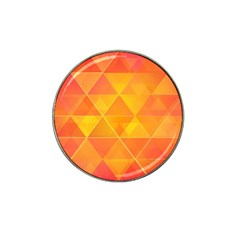 Background Colorful Abstract Hat Clip Ball Marker (4 Pack) by Nexatart
