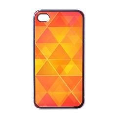 Background Colorful Abstract Apple Iphone 4 Case (black)