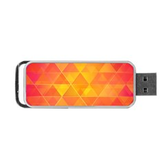 Background Colorful Abstract Portable Usb Flash (two Sides)