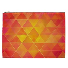 Background Colorful Abstract Cosmetic Bag (xxl)  by Nexatart
