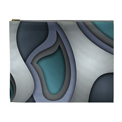Abstract Background Abstraction Cosmetic Bag (xl)