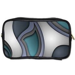 Abstract Background Abstraction Toiletries Bags 2 Side
