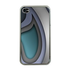Abstract Background Abstraction Apple Iphone 4 Case (clear)