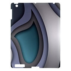 Abstract Background Abstraction Apple Ipad 3/4 Hardshell Case by Nexatart