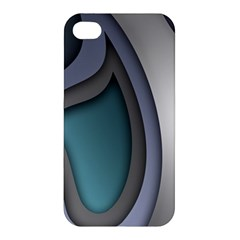 Abstract Background Abstraction Apple Iphone 4/4s Premium Hardshell Case
