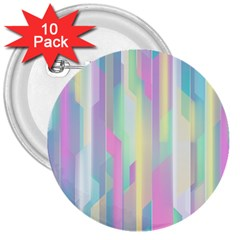Background Abstract Pastels 3  Buttons (10 Pack)  by Nexatart