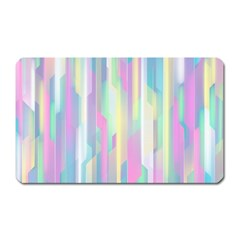 Background Abstract Pastels Magnet (rectangular)