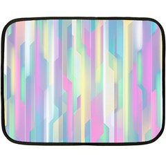Background Abstract Pastels Double Sided Fleece Blanket (mini)