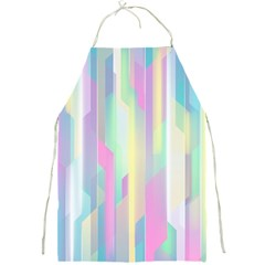 Background Abstract Pastels Full Print Aprons