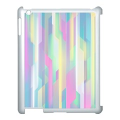 Background Abstract Pastels Apple Ipad 3/4 Case (white)