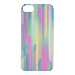 Background Abstract Pastels Apple Iphone 5s/ Se Hardshell Case by Nexatart