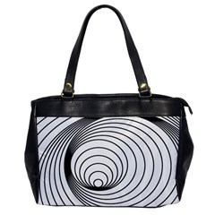 Spiral Eddy Route Symbol Bent Office Handbags by Nexatart