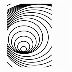 Spiral Eddy Route Symbol Bent Large Garden Flag (two Sides) by Nexatart