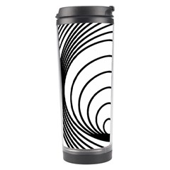 Spiral Eddy Route Symbol Bent Travel Tumbler