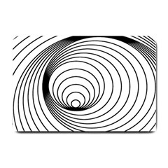 Spiral Eddy Route Symbol Bent Small Doormat