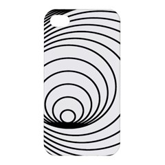 Spiral Eddy Route Symbol Bent Apple Iphone 4/4s Premium Hardshell Case