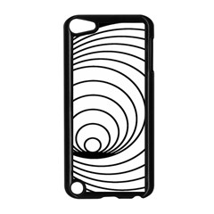 Spiral Eddy Route Symbol Bent Apple Ipod Touch 5 Case (black) by Nexatart