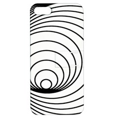 Spiral Eddy Route Symbol Bent Apple Iphone 5 Hardshell Case With Stand by Nexatart