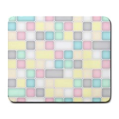 Background Abstract Pastels Square Large Mousepads