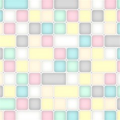 Background Abstract Pastels Square Magic Photo Cubes