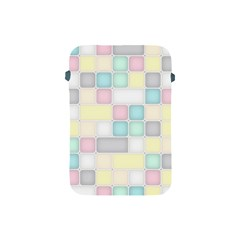 Background Abstract Pastels Square Apple Ipad Mini Protective Soft Cases