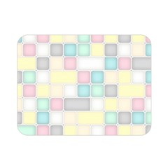 Background Abstract Pastels Square Double Sided Flano Blanket (mini)