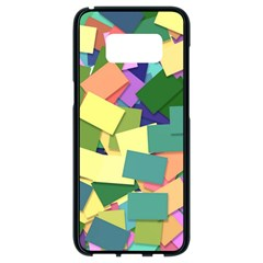 List Post It Note Memory Samsung Galaxy S8 Black Seamless Case
