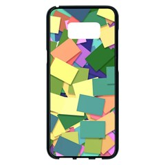 List Post It Note Memory Samsung Galaxy S8 Plus Black Seamless Case