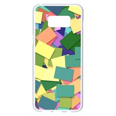 List Post It Note Memory Samsung Galaxy S8 Plus White Seamless Case