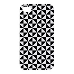 Triangle Pattern Simple Triangular Apple Iphone 4/4s Premium Hardshell Case