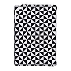 Triangle Pattern Simple Triangular Apple Ipad Mini Hardshell Case (compatible With Smart Cover) by Nexatart