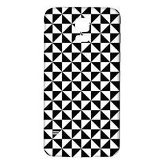 Triangle Pattern Simple Triangular Samsung Galaxy S5 Back Case (white)