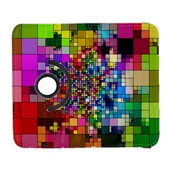 Abstract Squares Arrangement Samsung Galaxy S  Iii Flip 360 Case