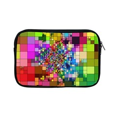 Abstract Squares Arrangement Apple Ipad Mini Zipper Cases by Nexatart