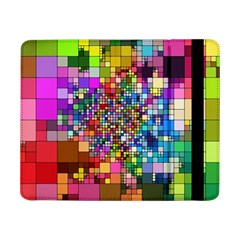 Abstract Squares Arrangement Samsung Galaxy Tab Pro 8 4  Flip Case