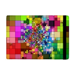 Abstract Squares Arrangement Ipad Mini 2 Flip Cases