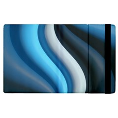Abstract Pattern Lines Wave Apple Ipad Pro 12 9   Flip Case