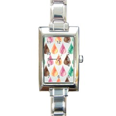 Background Colorful Abstract Rectangle Italian Charm Watch by Nexatart