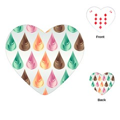 Background Colorful Abstract Playing Cards (heart)  by Nexatart