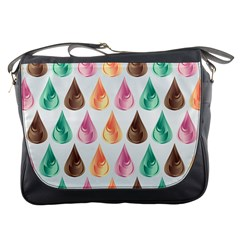 Background Colorful Abstract Messenger Bags