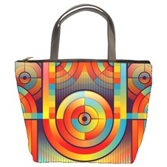 Background Colorful Abstract Bucket Bags by Nexatart