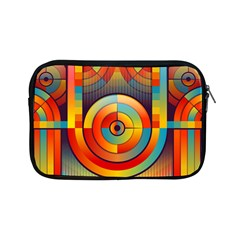 Background Colorful Abstract Apple Ipad Mini Zipper Cases by Nexatart