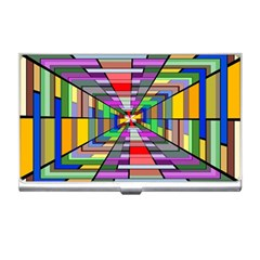 Art Vanishing Point Vortex 3d Business Card Holders by Nexatart