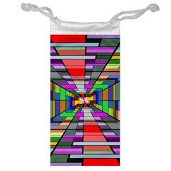 Art Vanishing Point Vortex 3d Jewelry Bags by Nexatart